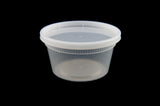 Newspring/Pactiv O'Smile 12 oz. Soup Container Combo w/Lid