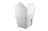 FoldPak 64 oz. White Food Pail