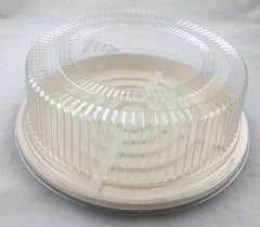 "EC-LH12 EccoCane 12"" High Dome PET Plastic Lid"