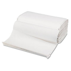 White Single Fold Towel