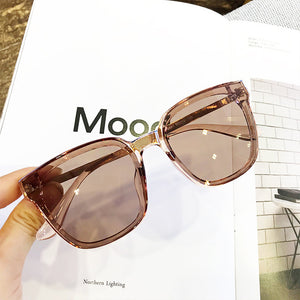 MS New Women Oversize Sunglasses Vintage Men Fashion Brand