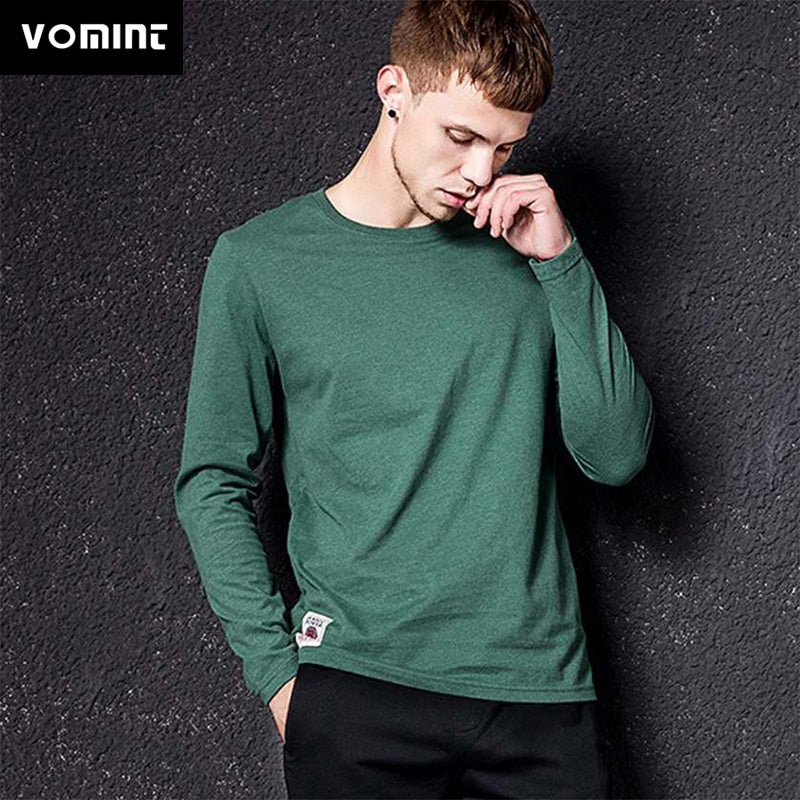 Vomint New Solid Color T-shirt Men's Multi-Color Color Arn Wash T-shirt
