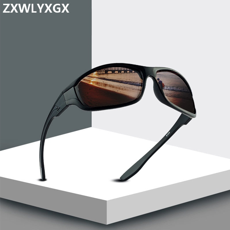 Classic polarized sunglasses Men Brand design Vintage  Driving sun glasses