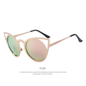 MERRYS Women Cat Eye Sunglasses Brand Designer Sunglasses Classic Shades
