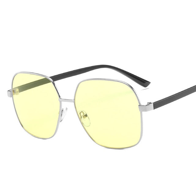 LeonLion Retro Sunglasses Men Brand Designer Sunglasses