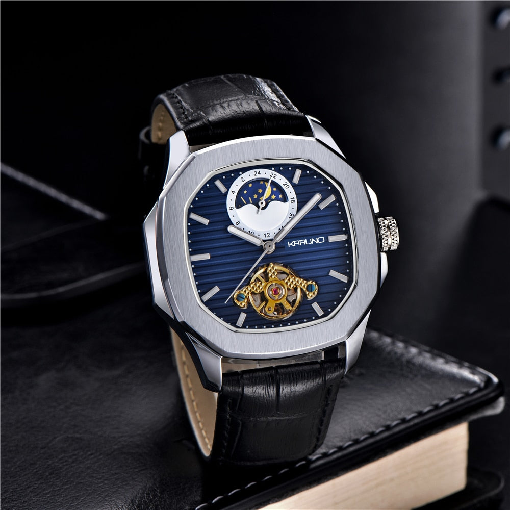 KARUNO Men Watches Mechanical Watch for Men's Fashion Automatic Watch