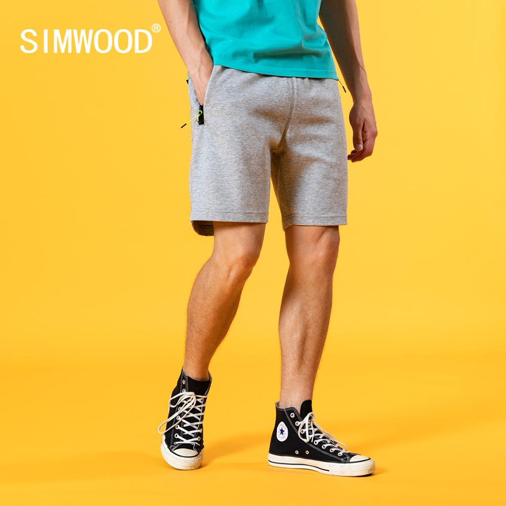 SIMWOOD  Sportswear shorts men Cotton-Jersey Shorts Joggers Gyms