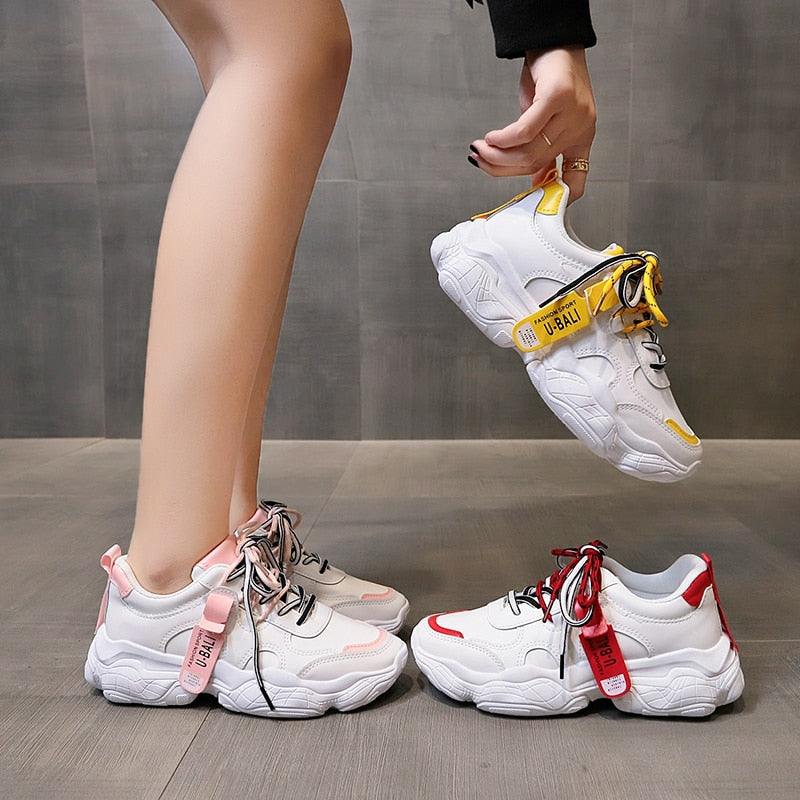 Women Sneakers Breathable Outdoor Walking Shoes