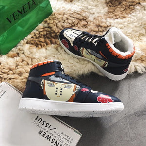 Winter Naruto Shoes Men Anime Shoes Akatsuki Pain Casual Shoes Senju Hashirama Canvas