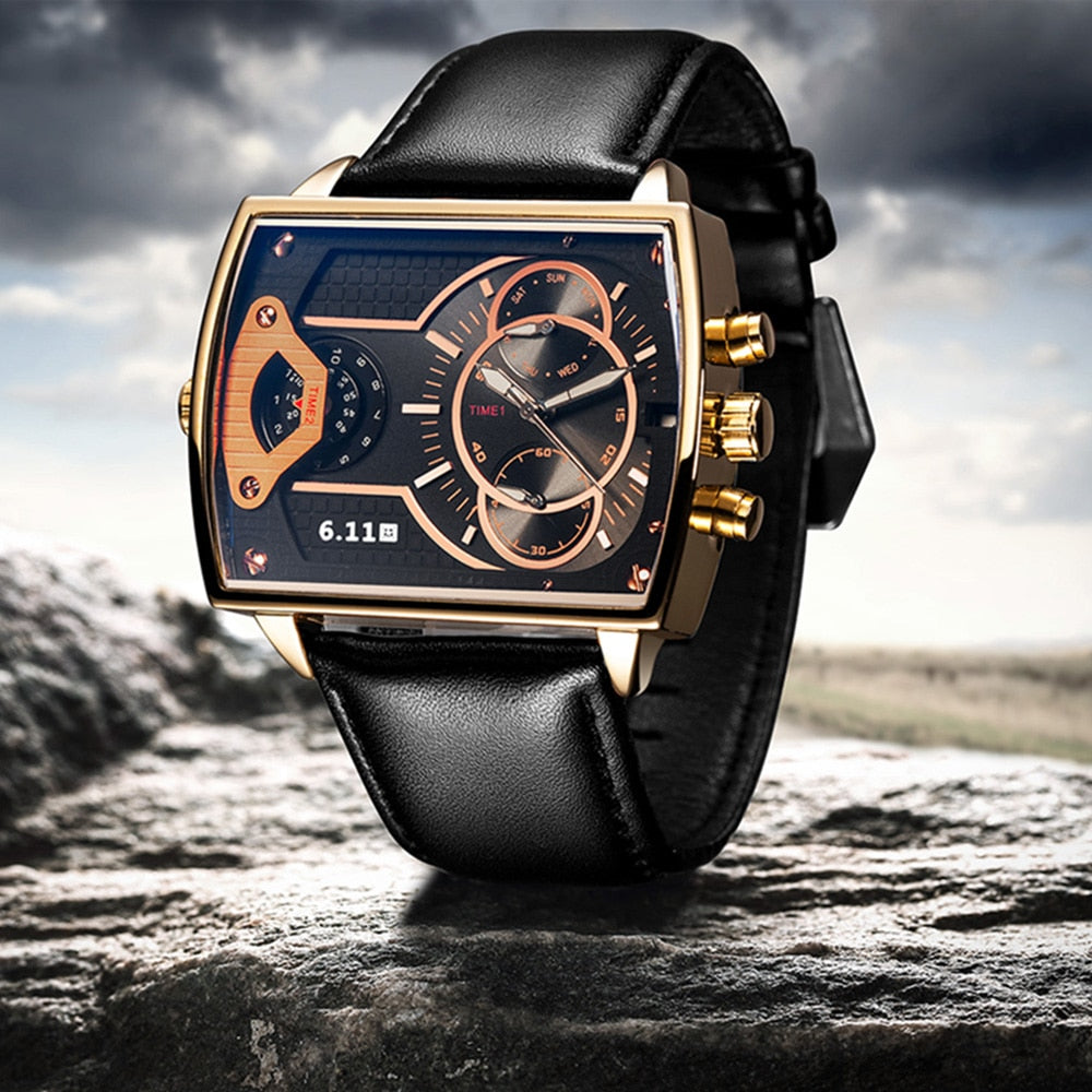 calendar mens watches top brand luxury