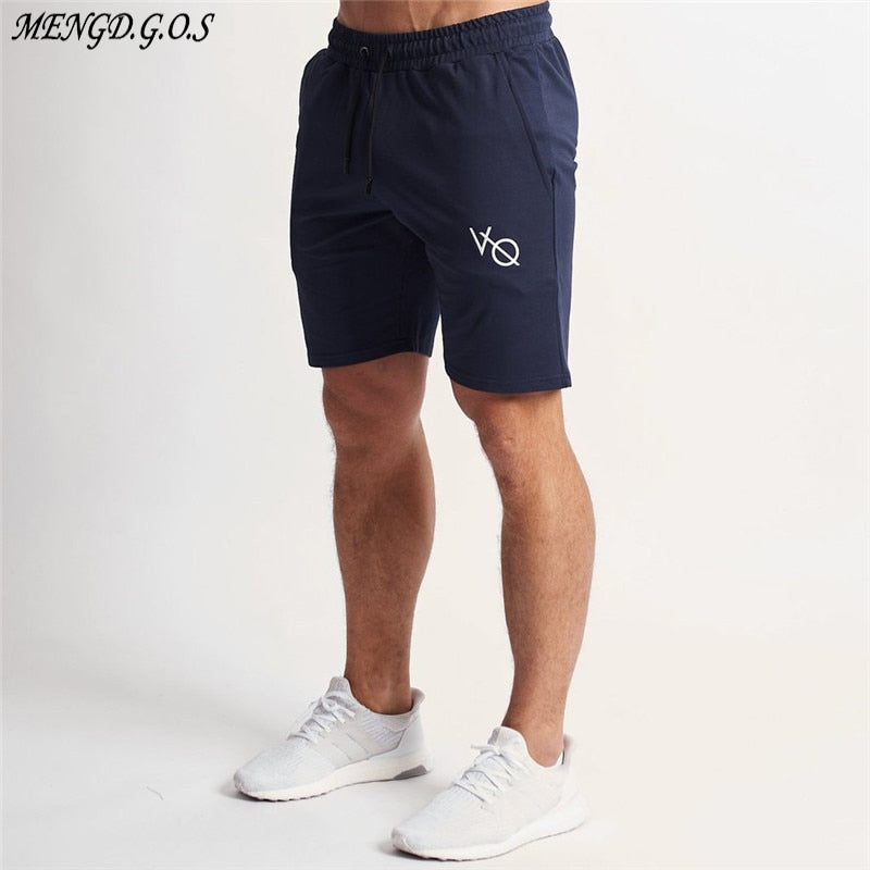 Cotton Men's Shorts Joggers Streetwear Casual Men's Clothing Gym Workout