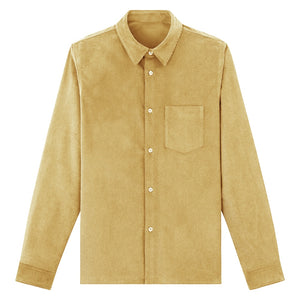 Corduroy Shirt Warm Tailor Made,Custom Autumn Fashion Cotton