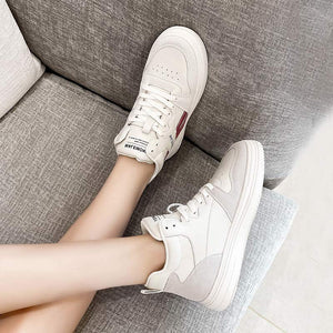 White Flat Shoes Fashion Breathable High Quality Women Shoes 6