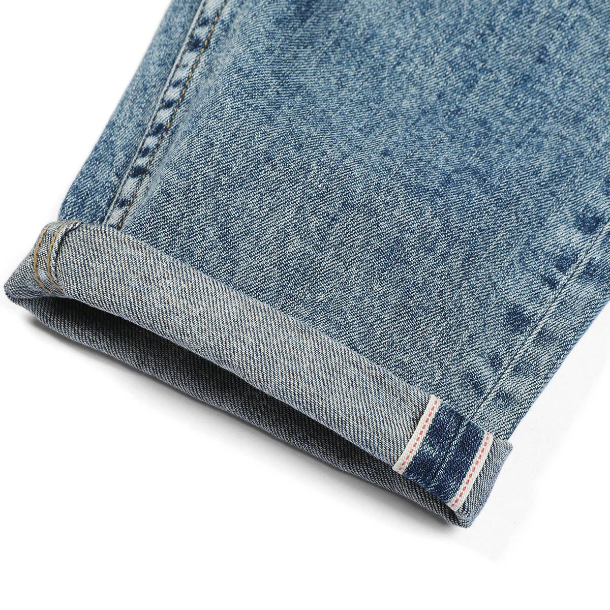 SIMWOOD New Slim-Fit Tapered Selvedge Denim Jeans