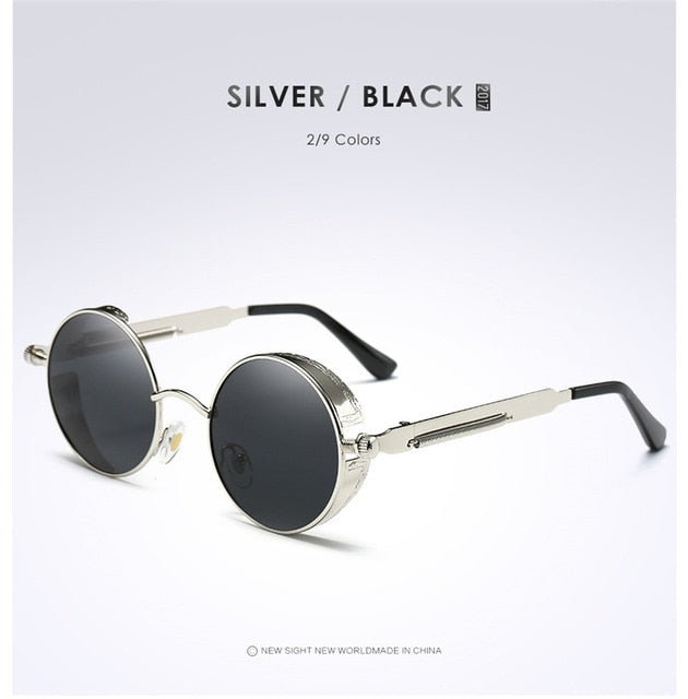 Mens Womens Fashion Retro Vintage Shield Eyewear
