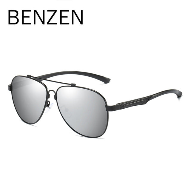 BENZEN Classic Sunglasses Men Polarized Male Sun Glasses Driving Glasses