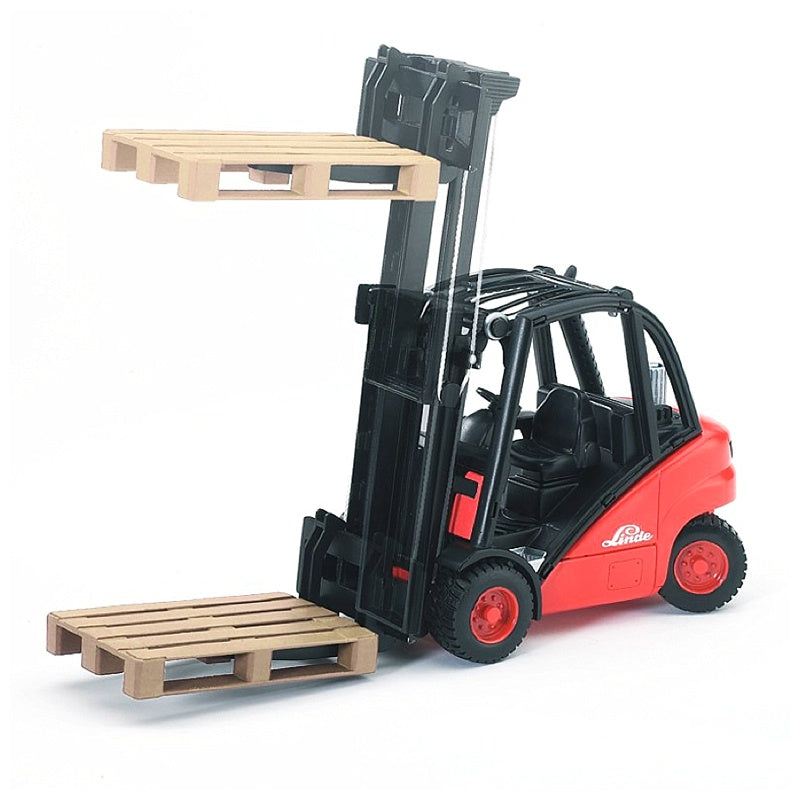 Bruder Forklift with Two Pallets