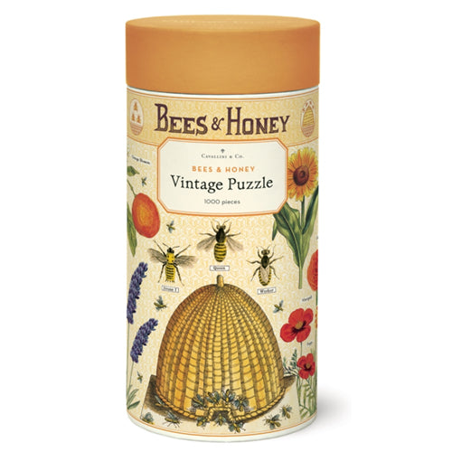 Cavallini & Co. Bees & Honey Vintage Puzzle