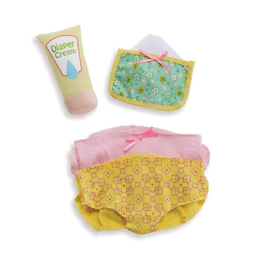 Manhattan Toy Co Wee Baby Stella Diaper Changing