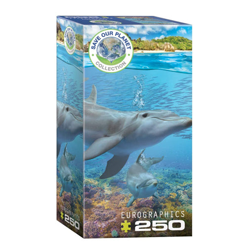 Eurographics Dolphins Save Our Planet 250 Piece Puzzle
