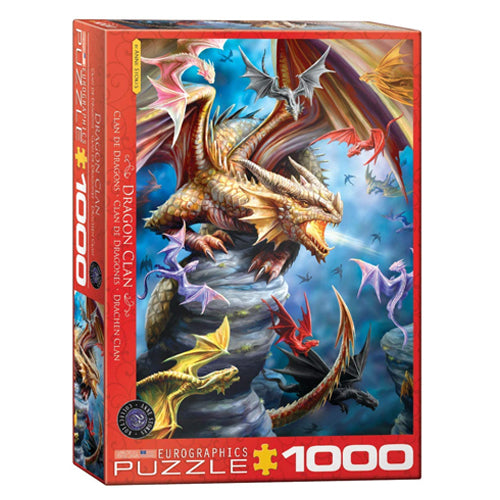 Eurographics Dragon Clan 1000 Piece Puzzle