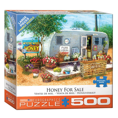 Eurographics Honey For Sale 500 Piece Puzzle