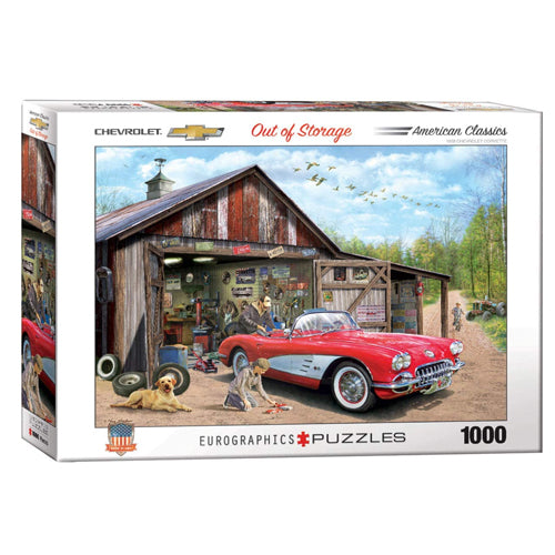 Eurographics Out Of Storage 1000 Piece Puzzle