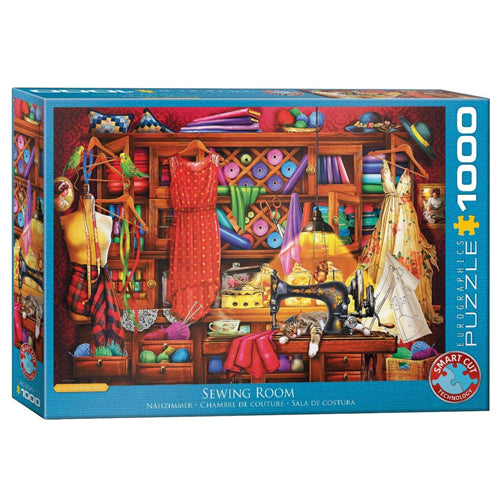 Eurographics Sewing Room 1000 Piece Puzzle