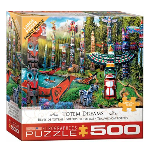 Eurographics Totem Dreams 500 Piece Puzzle