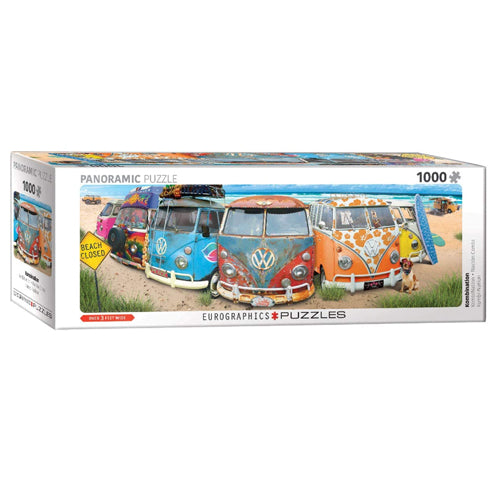 Eurographics VW Bus Kombination 1000 Piece Puzzle