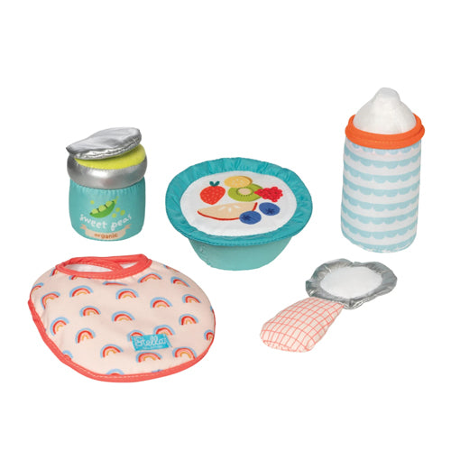 Manhattan Toy Co Wee Baby Stella Feeding Set