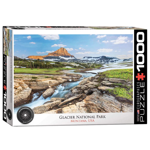 Eurographics Glacier National Park 1000 Piece Puzzle