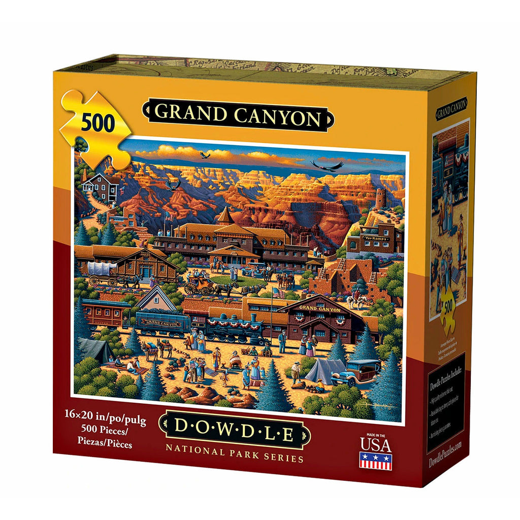Dowdle Grand Canyon 500 piece puzzle