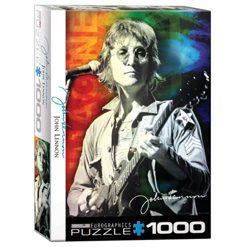 Eurographics John Lennon Live in New York 1000 Piece Puzzle
