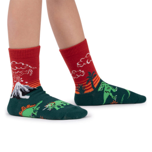Sock It To Me Socks - Dinosaur Days (Glow)