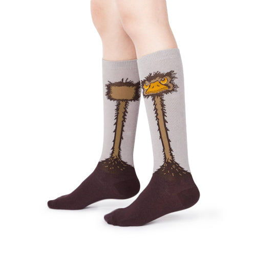 Sock It To Me Socks - Ostrich