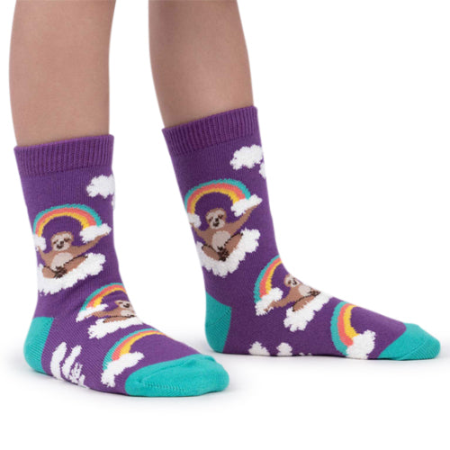 Sock It To Me Socks - Sloth Dreams (Fuzzy)