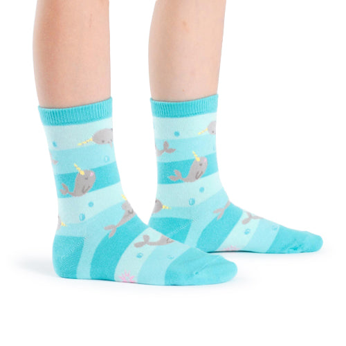 Sock It To Me Socks - Unicorn of the Sea