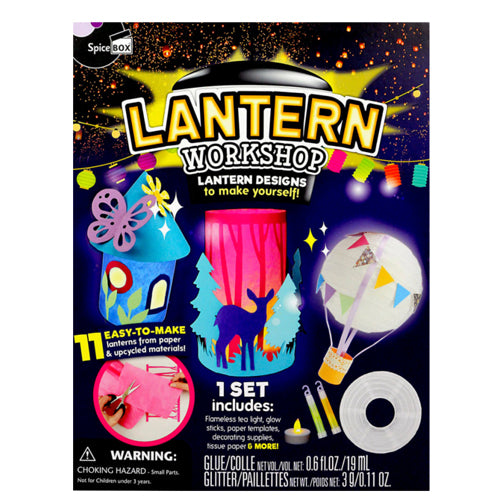 Spicebox Lantern Workshop