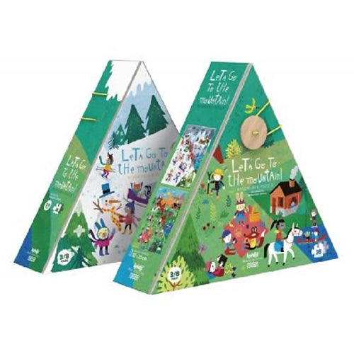 Londji Let's Go to the Mountains 36 piece puzzle