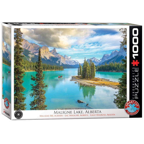 Eurographics Maligne Lake 1000 Piece Puzzle