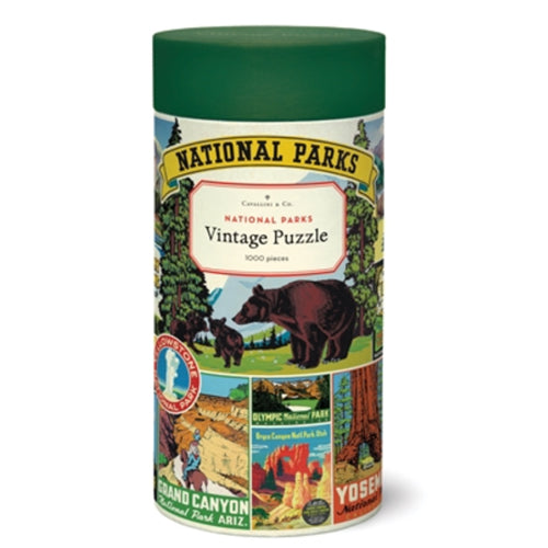 Cavallini & Co. - National Parks Vintage Puzzle