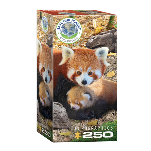 Eurographics Red Pandas 250 Piece Puzzle