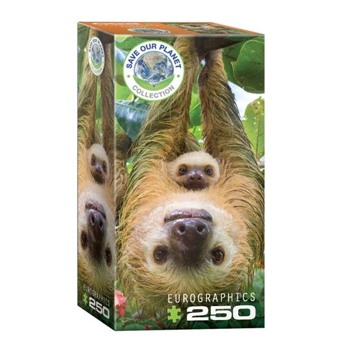 Eurographics Sloths 250 piece puzzle