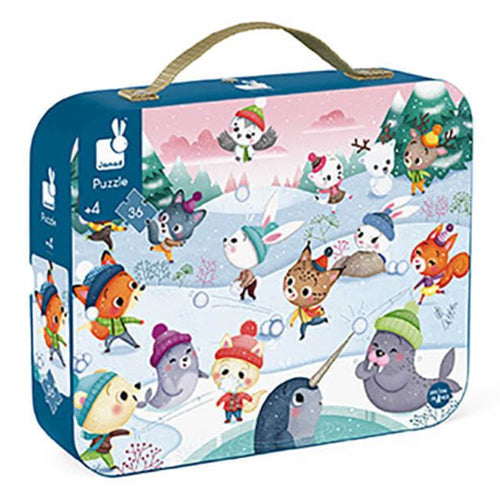 Janod Snow Party 36 Piece Puzzle