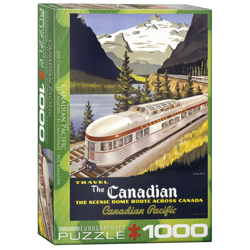 Eurographics The Canadian 1000 Piece Puzzle