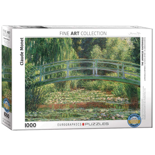 Eurographics The Japanese Footbridge 1000 Piece Puzzle