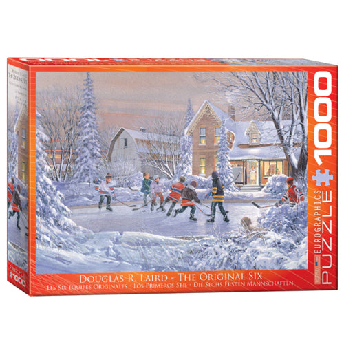 Eurographics The Original Six 1000 Piece Puzzle