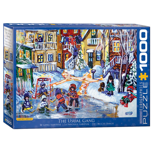 Eurographics The Usual Gang 1000 Piece Puzzle