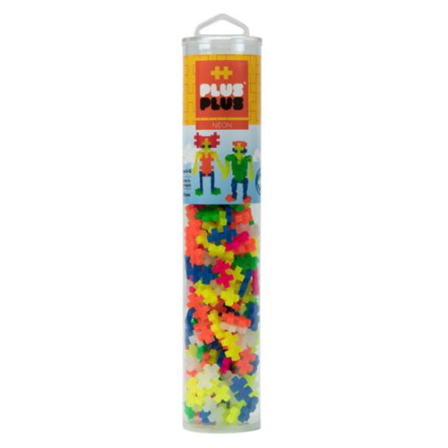 Plus Plus Tube Neon 240 pieces